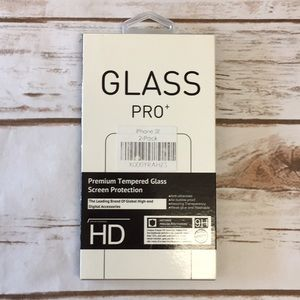 iPhone SE Glass Screen Protector 2 Pack